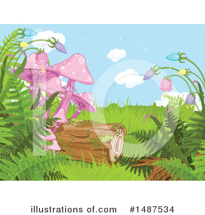 Ferns Clipart #1487534 by Pushkin