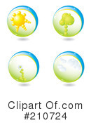 Nature Clipart #210724 by MilsiArt
