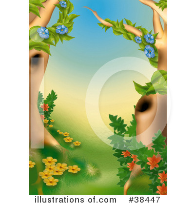 Royalty-Free (RF) Nature Clipart Illustration by dero - Stock Sample #38447