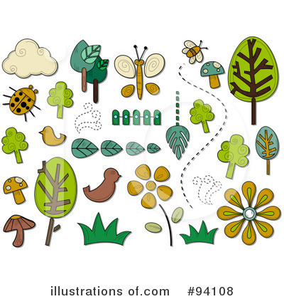 Nature Clipart #94108 by BNP Design Studio | Royalty-Free (RF) Stock ...
