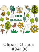 Royalty-Free (RF) Nature Clipart Illustration #94108