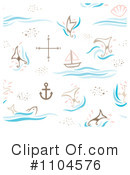 Royalty-Free (RF) Nautical Clipart Illustration #1104576