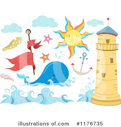 Seashell Clipart #1176735 by BNP Design Studio