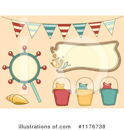 Seashell Clipart #1176738 by BNP Design Studio