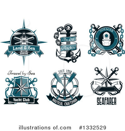 Lighthouse Clipart #1332529 by Vector Tradition SM