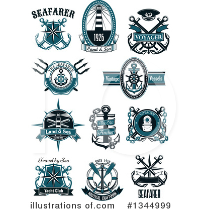 Lighthouse Clipart #1344999 by Vector Tradition SM