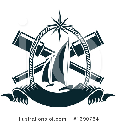Nautical Clipart #1390764 by Vector Tradition SM