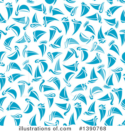 Sailboat Clipart #1390768 by Vector Tradition SM