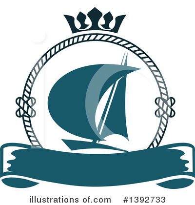 Royalty-Free (RF) Nautical Clipart Illustration by Vector Tradition SM - Stock Sample #1392733