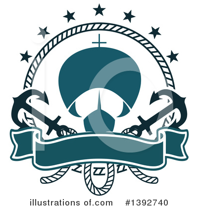 Anchor Clipart #1392740 by Vector Tradition SM