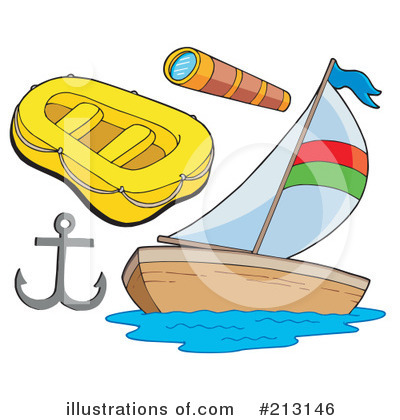 Sailboat Clipart #213146 by visekart