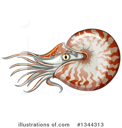 Sea Life Clipart #1344313 by Graphics RF