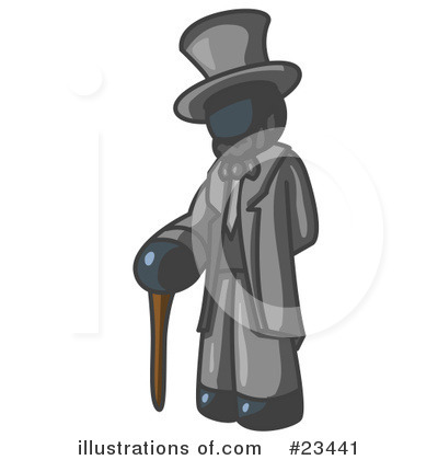 Abraham Lincoln Clipart #23441 by Leo Blanchette