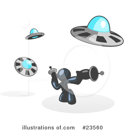 Alien Clipart #23560 by Leo Blanchette