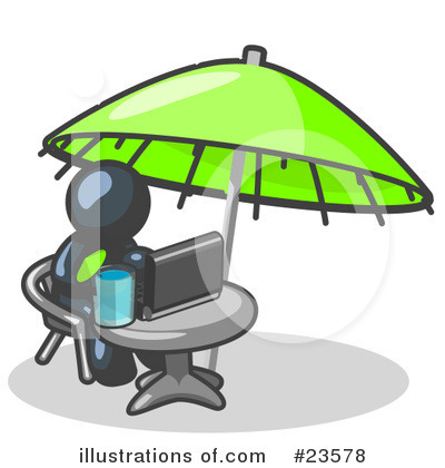 Vacation Clipart #23578 by Leo Blanchette