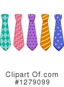 Neck Tie Clipart #1279099 by BNP Design Studio