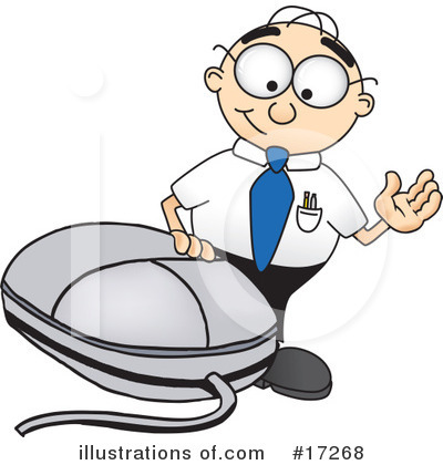 Computer Mouse Clipart #17268 by Toons4Biz