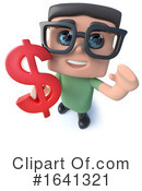Nerd Clipart #1641321 by Steve Young
