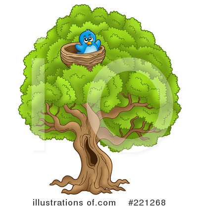 Tree Clipart #221268 by visekart