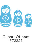 Nesting Doll Clipart #72226 by Rosie Piter