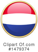 Netherlands Flag Clipart #1479374 by Graphics RF