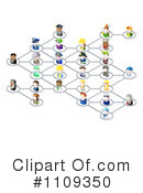 Royalty-Free (RF) Network Clipart Illustration #1109350
