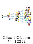 Royalty-Free (RF) networking Clipart Illustration #1112282