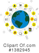 Networking Clipart #1382945 by ColorMagic