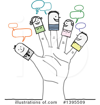 Social Networking Clipart #1395509 by NL shop