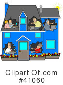 Networking Clipart #41060
