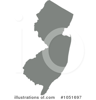 Royalty-Free (RF) New Jersey Clipart Illustration by Jamers - Stock Sample #1051697