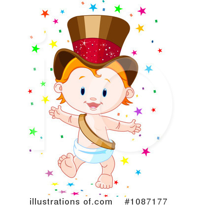 New Year Clipart #1087177 by Pushkin