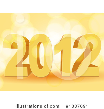 New Year Clipart #1087691 by elaineitalia