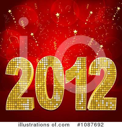 New Year Clipart #1087692 by elaineitalia