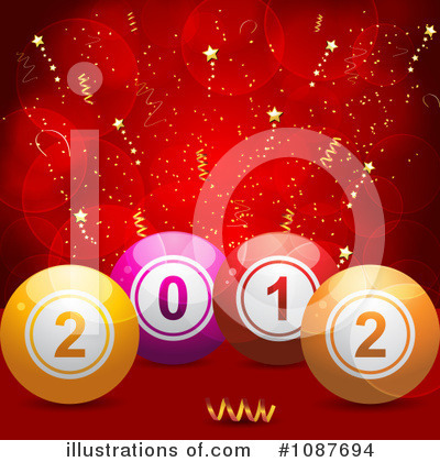 New Year Clipart #1087694 by elaineitalia