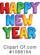 New Year Clipart #1088164 by visekart