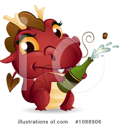 Dragon Clipart #1088906 by BNP Design Studio