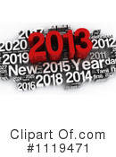 Royalty-Free (RF) New Year Clipart Illustration #1119471