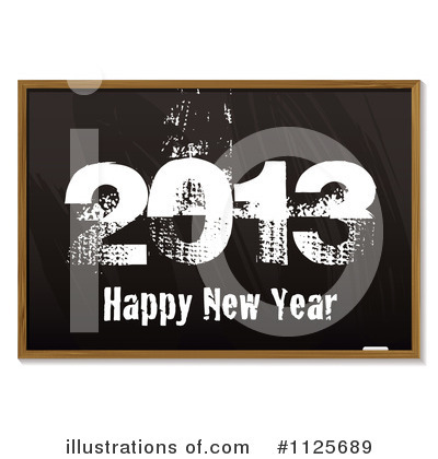 New Year Clipart #1125689 by michaeltravers
