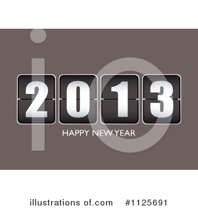 New Year Clipart #1125691 by michaeltravers