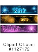 Royalty-Free (RF) New Year Clipart Illustration #1127172