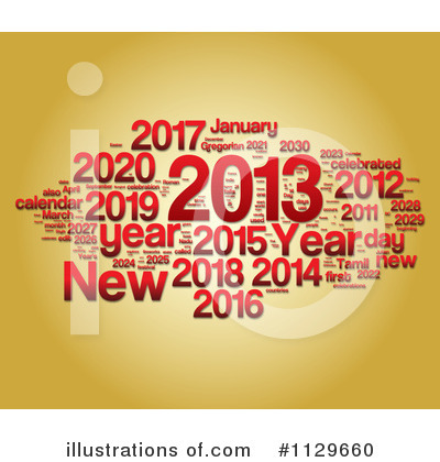 New Year Clipart #1129660 by MacX