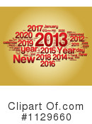 Royalty-Free (RF) New Year Clipart Illustration #1129660
