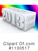 Royalty-Free (RF) New Year Clipart Illustration #1130517