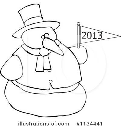 New Year Clipart #1134441 by djart
