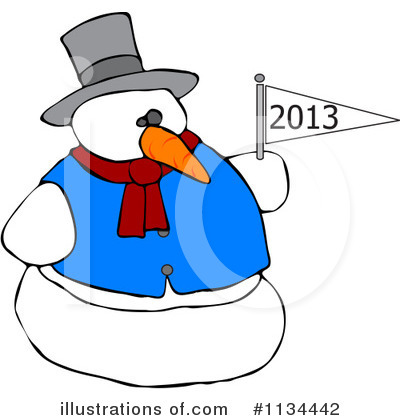 New Year Clipart #1134442 by djart