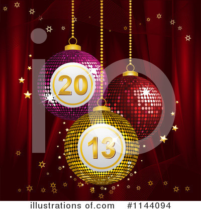 New Year Clipart #1144094 by elaineitalia