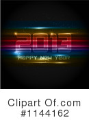 Royalty-Free (RF) New Year Clipart Illustration #1144162