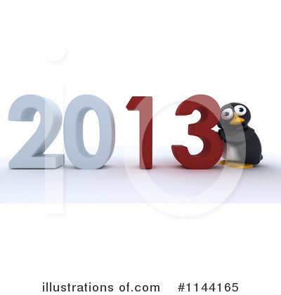 Penguin Clipart #1144165 by KJ Pargeter
