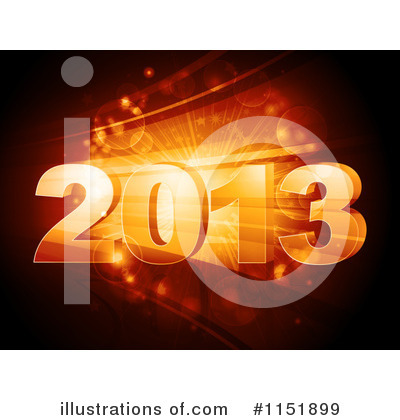 New Year Clipart #1151899 by elaineitalia
